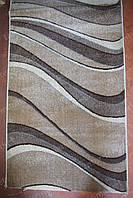 Дорожка ковровая искусственная Волна бежевая