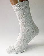 """Шкарпетки чоловічі """"Люкс"""". Сітка. Світло-сірі. Р-Р 27."""