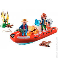 Конструктор Детский Playmobil Лодка с браконьерами (5559)