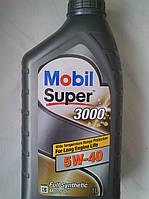 Синтетическое моторное масло Mobil 3000 5w40 (1литр)