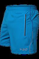 Бирюзовые шорты мужские, летние шорты
