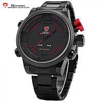 Часы Shark Gulper SH105 (чёрно-красные) Оригинал