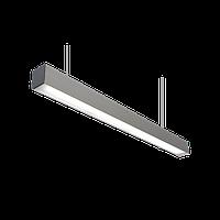 Подвесной линейный светильник светодиодный 28 Вт, аналог 2х36