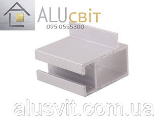 Алюминиевый профиль 2575 торговый, фото 2