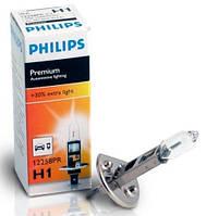 Автолампа Philips Premium +30% H1 55W