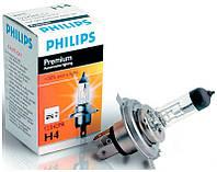 Автолампа Philips Premium +30% H4 60/55W