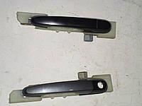 Ручка дверки передней наружной (левая,правая) Hyundai Tucson  (04-10) 2,0 бензин механика