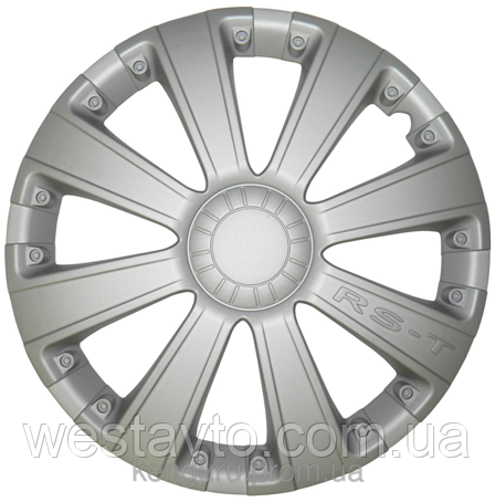 Колпак колесный R13 RST серый, 4 шт