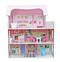 Кукольный домик.Дом для кукол барби Будиночок для ляльок.+2куклы в подарок!