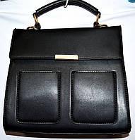 Женская сумка портфель Люкс черная