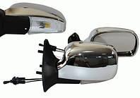 Зеркала ВАЗ 2109, 2113-2115 хром широкие с поворотником