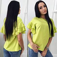 """Женская модная блузка шёлк   """" Армани """" ТД1108"""