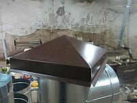Колпаки на столбы 380-380