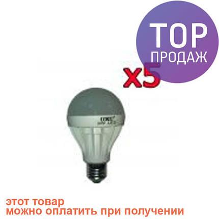 5шт Светодиодная LED лампочка UKC E27 9W/светодиодная лампочка, фото 2