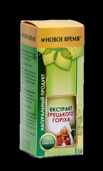 Масло грецкого ореха Новое время, 100 мл