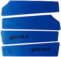 Вставки в двери ВАЗ 2109 - 21099 синие