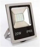 Светодиодный прожектор Led Light 20W 6000K (холодный белый) Super Slim