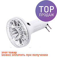 Лампа-фонарь на аккумуляторе Yajia YJ-1892L 10+1 LED / Светодиодная лампочка