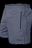 Спортивные шорты , серые мужские шорты