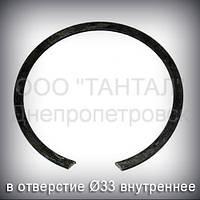 Кольцо 33 ГОСТ 13941-86 концентрическое упорное внутреннее