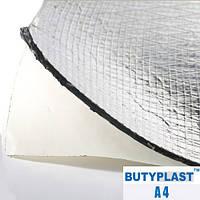 Шумоизоляция Butyplast 4 мм 500х600мм - виброизоляция