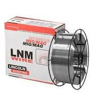 Проволока сварочная LNM NiCroMo60/16 AWS ERNiCrMo-4 сплошная проволока LINCOLN ELECTRIC