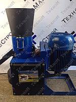 Гранулятор кормовых гранул ОГП-260 (380 В, 11 кВт) матрица 260 мм, 300 кг/час