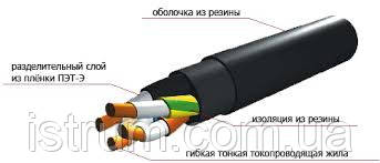 Кабель силовой КГ 4х1,5