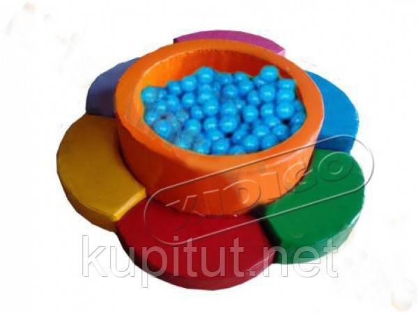 Сухой бассейн KIDIGO™ Ромашка