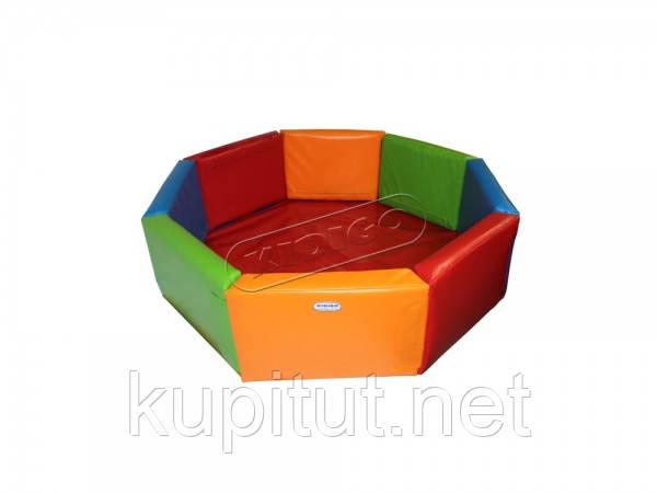 Сухой бассейн KIDIGO™ Восьмигранник 2 м MMSB18