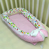 Гнездышко кокон-позиционер для новорожденного BabyNest - 06