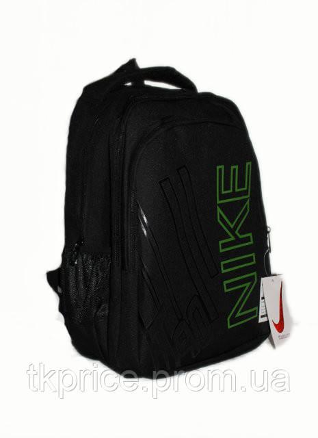 c4d983c3edcb Универсальный рюкзак качественная реплика Nike черный с зеленым - Интернет- магазин