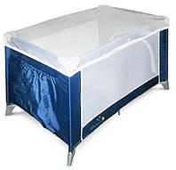 Манеж кроватка Wonderkids Discovery (синий), детский манеж-кровать