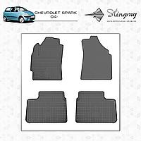 Автомобильные коврики Stingray Chevrolet Spark 2009-