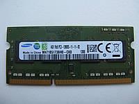 Память для ноутбука SoDIMM Samsung DDR3-1600 4GB 1Rx8 PC3-12800S-11-11-B2