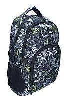 Ранец-рюкзак Safari 2 отделения серо-зеленый серо-зеленый 97017
