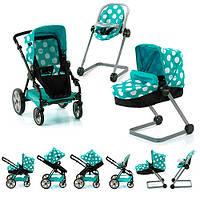 Кукольная коляска-трансформер 6 в 1 HAUCK I'coo D-88845