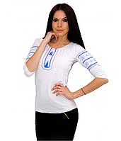 Вишита біла жіноча сорочка. Вишиті футболки. Сучасні вишиванки. Жіночі  вишиванки. d5b8316f0f4f6