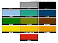 Краска нитро эмаль НЦ-132 красная 2,0кг Master Color