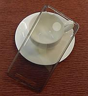 Силиконовый ультратонкий чехол 0,3мм для Nokia 640XL Black