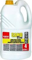 Средство SANO для снятия налета с унитаза SANO BON 4л, арт.290461
