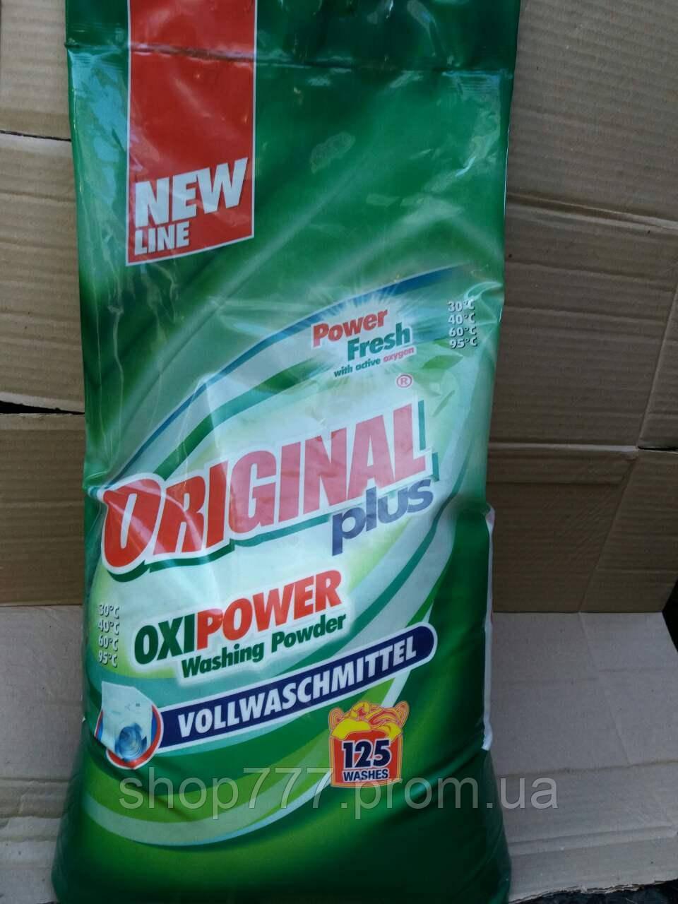 Стиральный порошок OriGinal plus oxi power 10кг