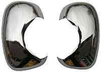 Накладки на зеркала Opel Vivaro нержавейка carmos