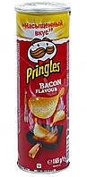 Чипсы  Pringles Bacon Flavour , 165 гр
