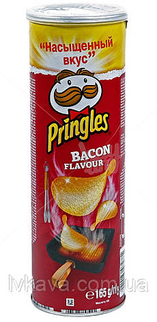 Чипсы  Pringles Bacon Flavour , 165 гр, фото 2