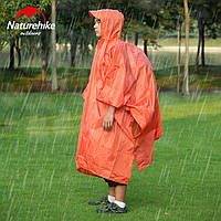 Накидка от дождя (пончо) Naturehike (оранжевая), фото 1