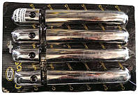 Накладки на ручки Mercedes Vito 638 4 шт нержавейка carmos