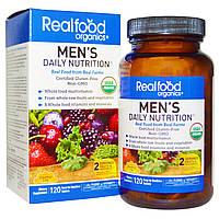 Country Life, RealFood Organics, Man's Daily Nutrition комплекс витаминов и трав для мужчин, 120 табл