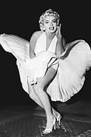 Фотообои бумажные на стену 115х175 см 1 лист: Мэрилин Монро легенда
