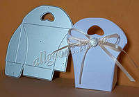 Трафарет для изготовления подарочной коробки